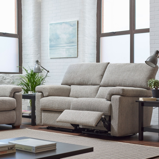 Crafton - Cuddler Sofa Power Recliner