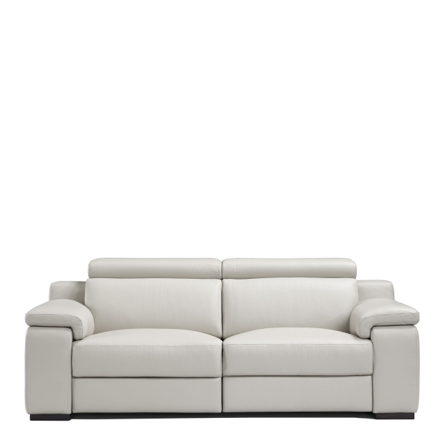 Selvino - 3 Seat Sofa With 2 Power Recliners In Leather