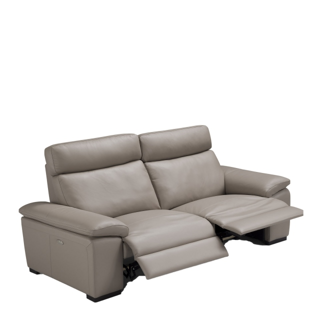 Varese - 3 Seat Sofa 2 With Power Recliners In Leather