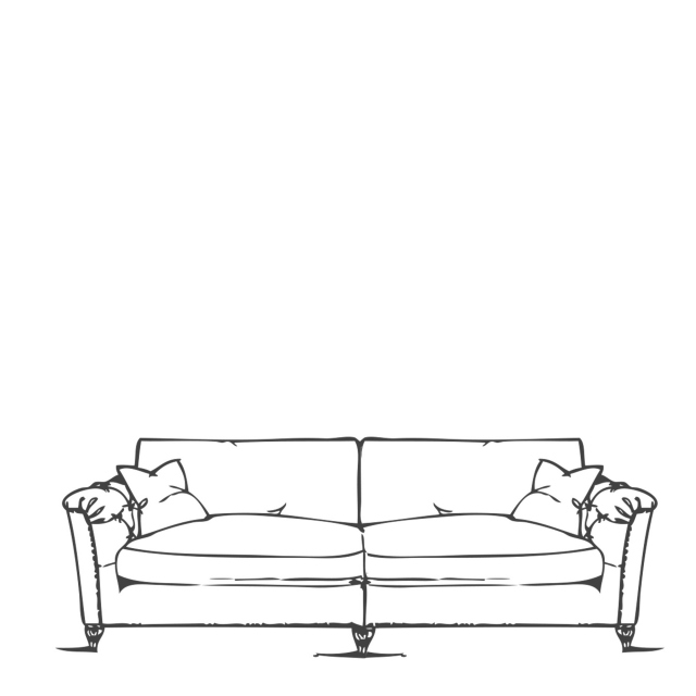 Standard Back Grand Split Sofa - Safari