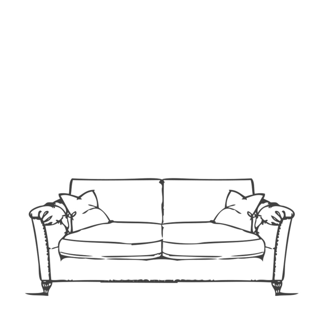 Standard Back Medium Sofa - Safari