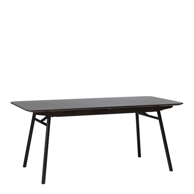 Lima - 180/240cm Extendable Table Espresso Brown Oak Finish