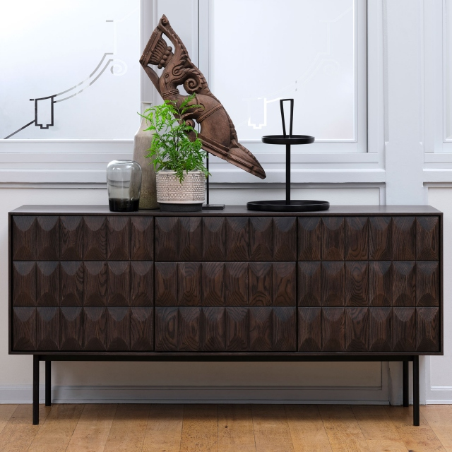 Lima - Sideboard Espresso Brown Oak Finish