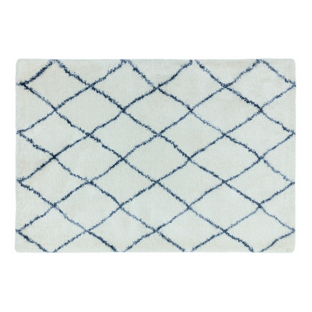 Alto Rug AL03 Cream and Blue 160cm x 230cm