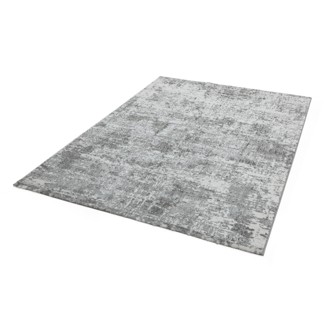 Orion Rug OR05 Abstract Silver