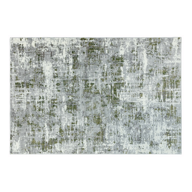 Orion Rug Or08 Abstract Green All Rugs Fishpools