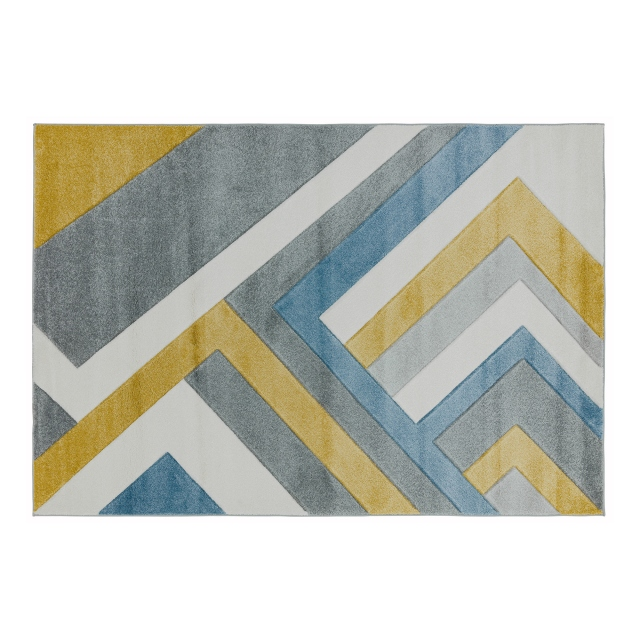 Sketch Rug SK09 Linear Grey Multi