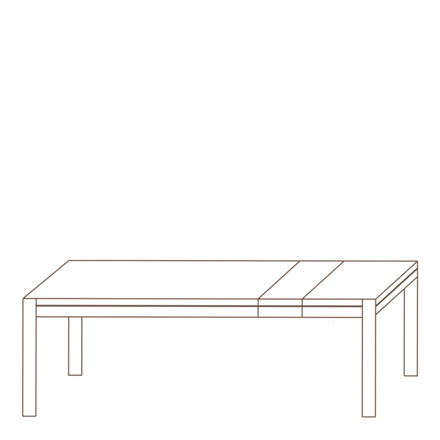 Porto - 160-240cm Extending Dining Table Oak