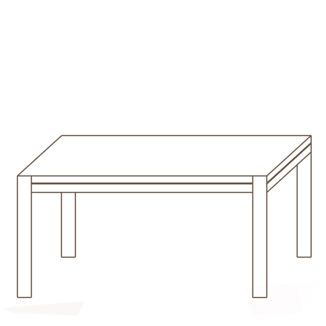 Porto - 190 x 98cm Dining Table Oak