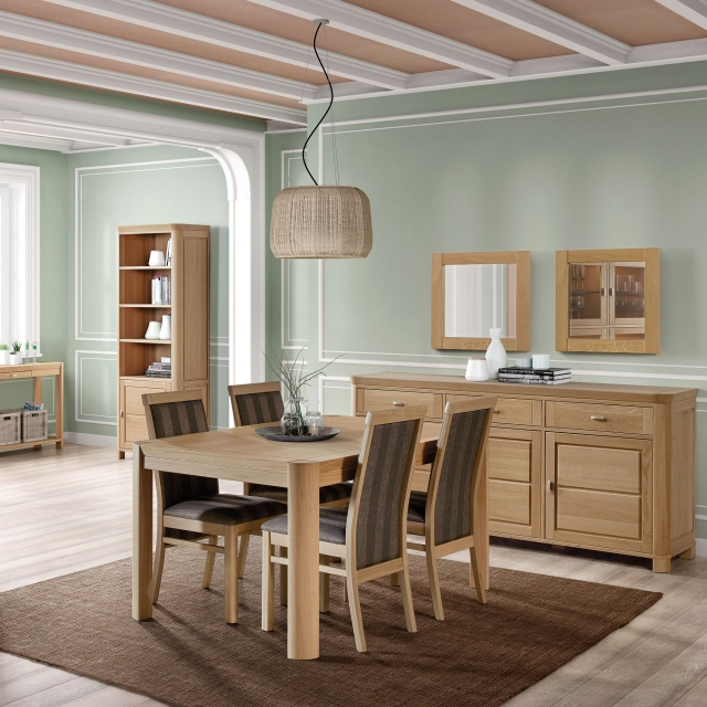 Porto - 2 Door Unit Oak