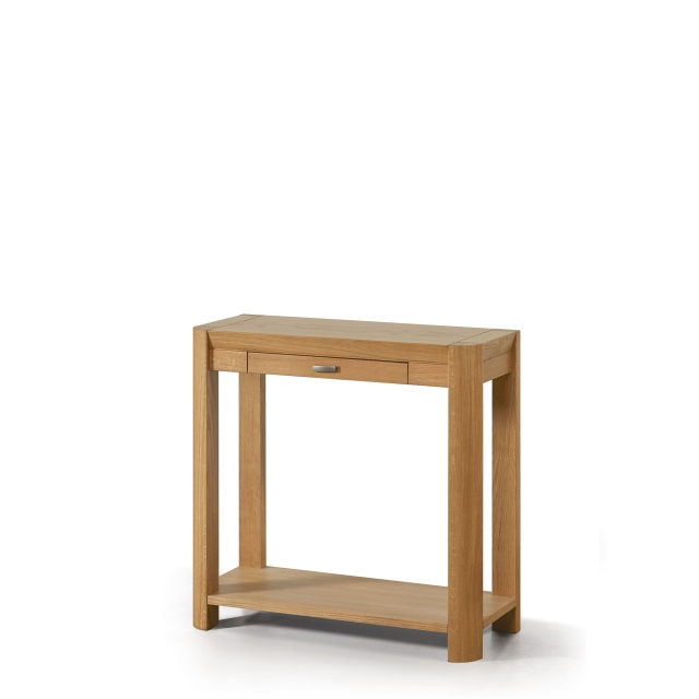 Porto - 80x35cm Hall Table Oak