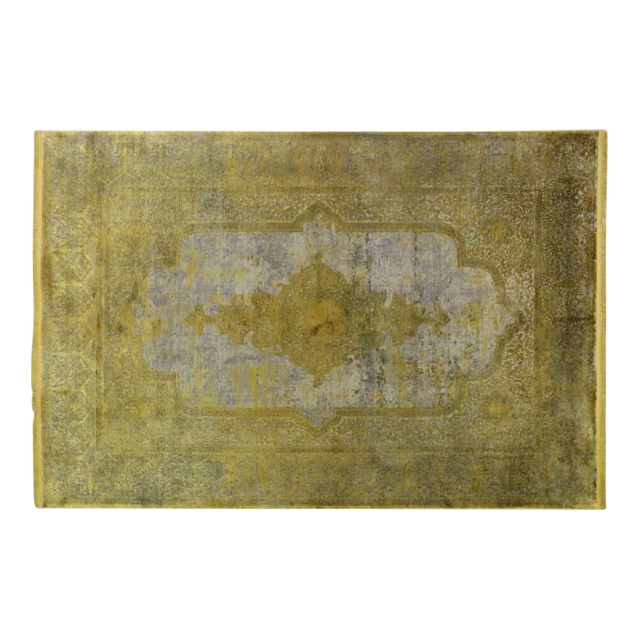 Overdyed Rug Gold