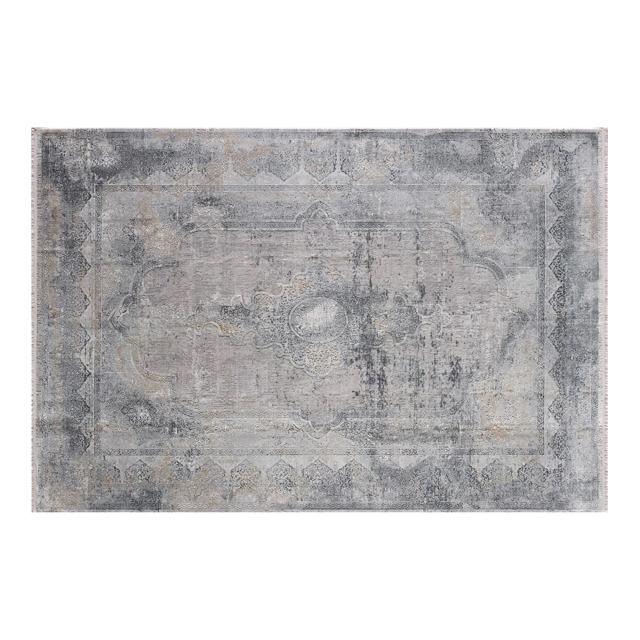 Overdyed Rug Frost Grey