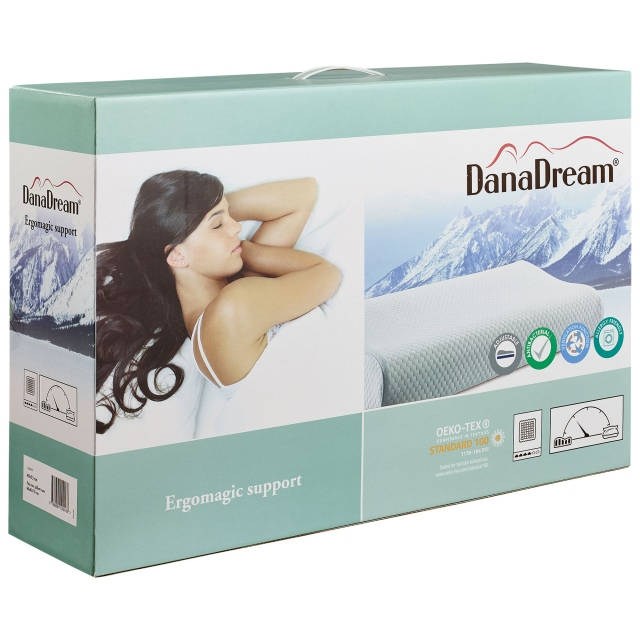 DanaDream Memory Foam Support Pillow