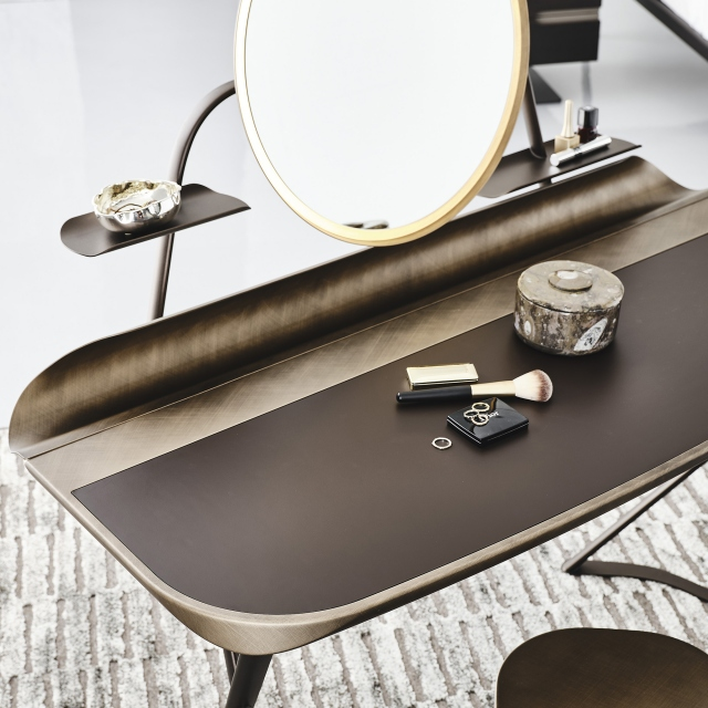 Cattelan Italia Coccon Trousse Leather - Desk With LED Light