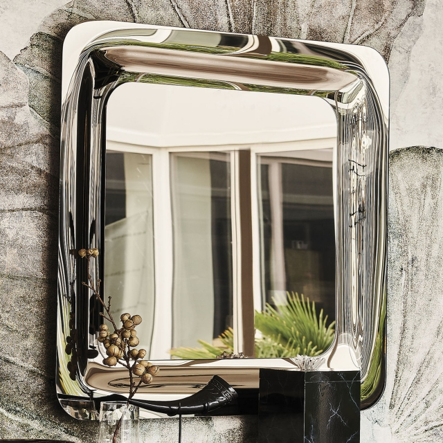 Mirror Mirrored Glass - Cattelan Italia Glenn