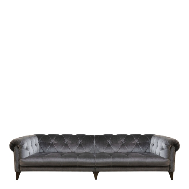 Roosevelt - 4 Seat Shallow Sofa In Fabric