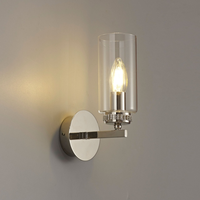 Kova 1 Wall Light Polished Nickel