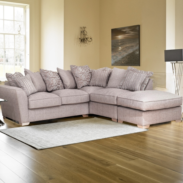 Memphis - 3 Seater Sofa Pillow Back