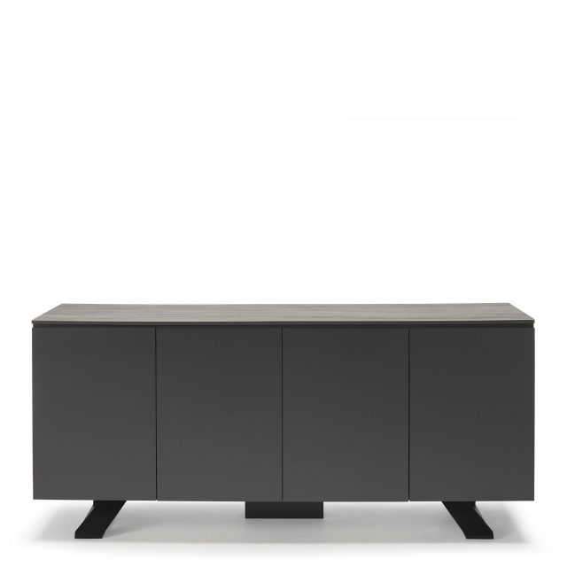 Conrad - Sideboard Grey Wood Effect Ceramic Top