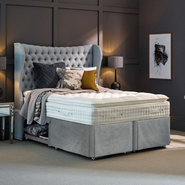 Hypnos Walbury - Pillow Top Hideaway Divan Set