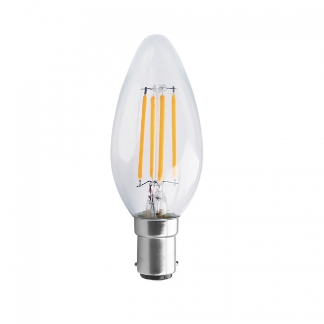 LED Candle 4w SBC Warm White Dimmable
