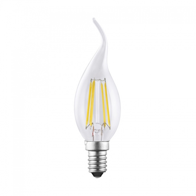 LED Flame Candle 4w SES Warm White Dimmable