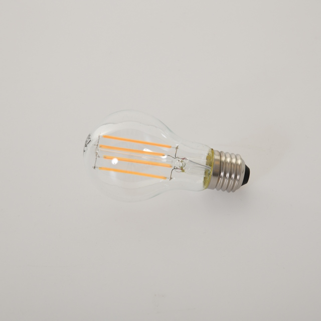 LED GLS 8w ES Clear Warm White Dimmable