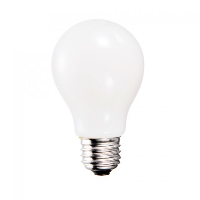LED GLS 9w ES Opal Warm Dimmable