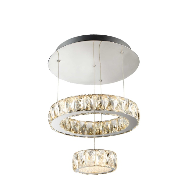 Biaritz LED 2 Tier Flush