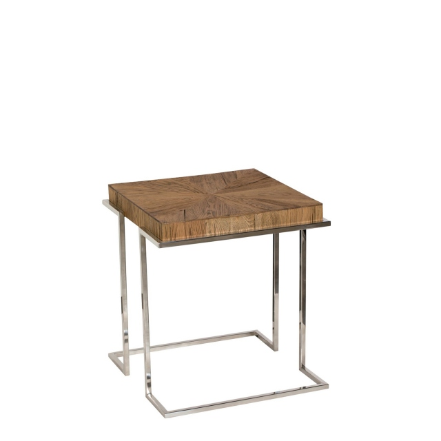 Marseille - Lamp Table In Cracked Oak Finish