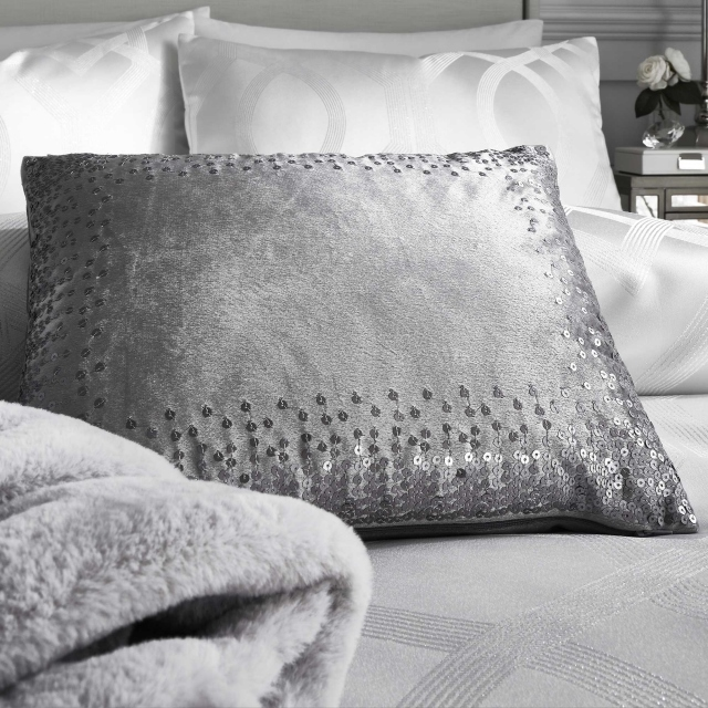 By Caprice Sophia Cushion Silver