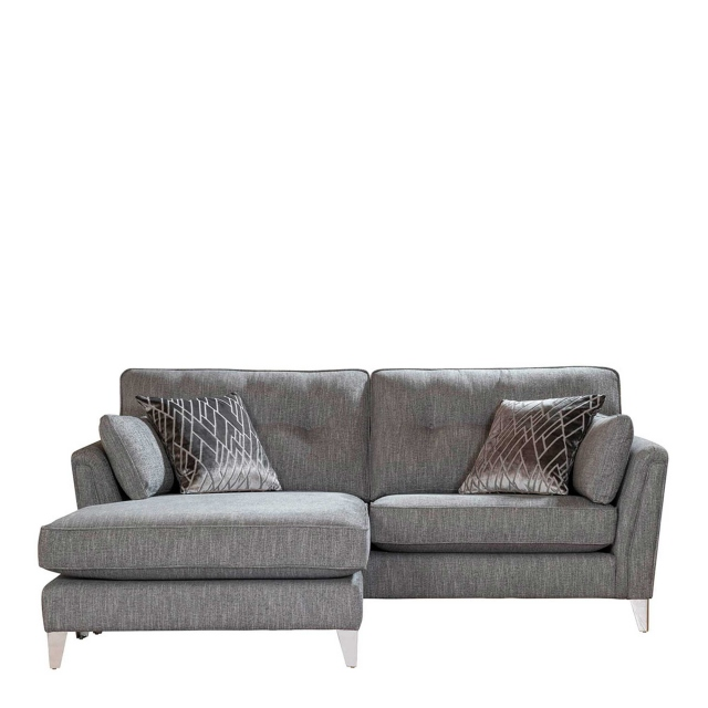 Lola - 4 Seat Sofa Chaise In Fabric