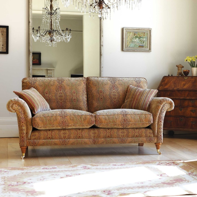 Parker Knoll Burghley - Large 2 Seat Sofa In Fabric