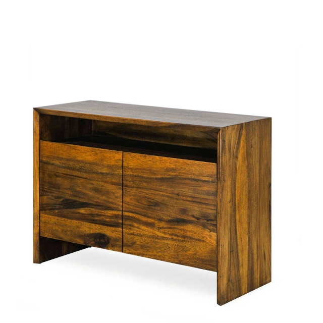 Lumpur - Narrow Sideboard In Albany Walnut