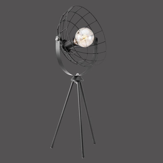 Radar Table Lamp Black