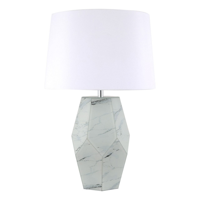 Tyson Table Lamp Marble Finish