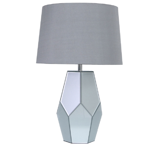 Tyson Table Lamp Smoke Mirror