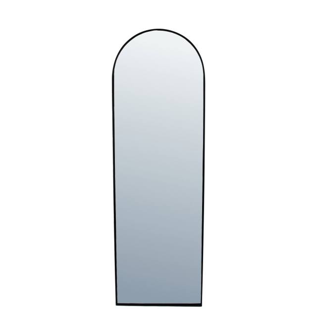 Danny Arched Mirror Large Black