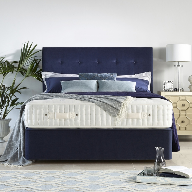 Harrison Spinks Foxglove - Deep Platform Top Divan Set 150cm Zip & Link (King)