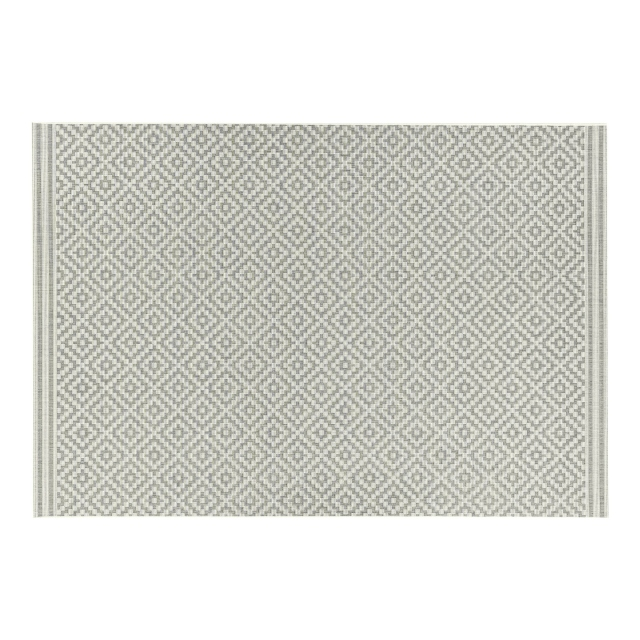 Patio Rug PAT11 Diamond Grey