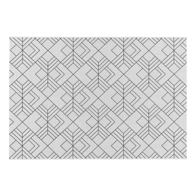 Patio Rug PAT16 Deco Ivory