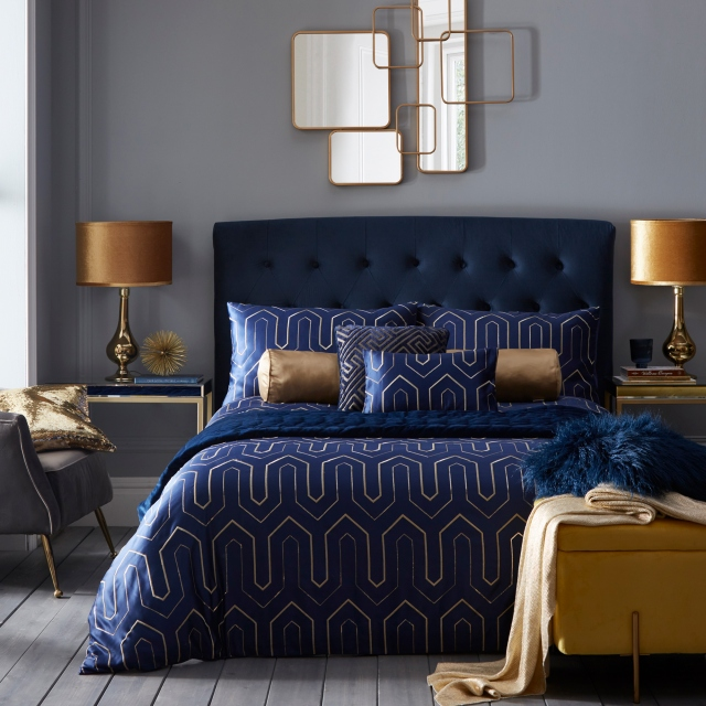 Tess Daly Phoebe Midnight Duvet Set
