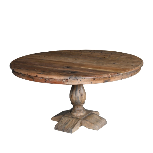 150cm Ø Boatwood Table - Bali