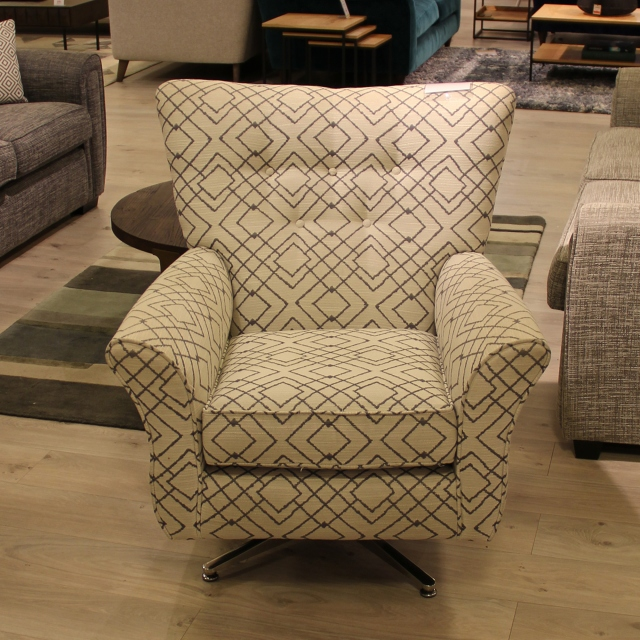 Swivel Chair - Item As Pictured - Seville
