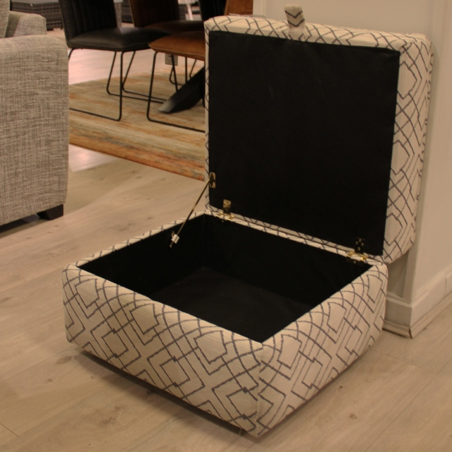 Storage Footstool - Item As Pictured - Seville