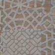 8999 Pewter Bronze Patchwork Velvet
